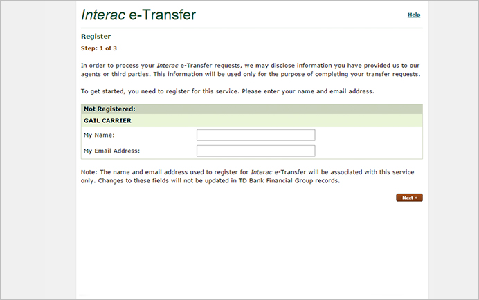 Send Money With Interac E Transfer Td